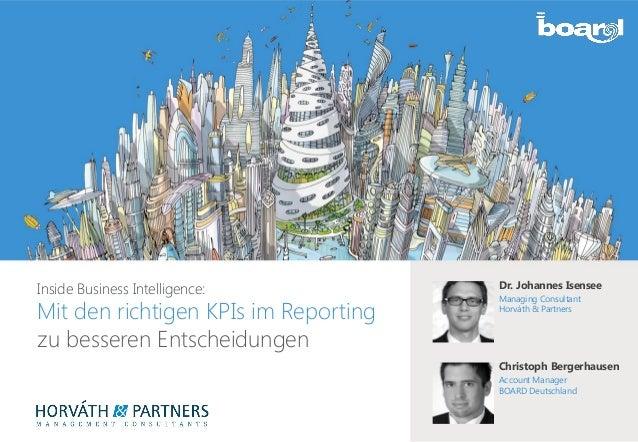 27.02.14 | Mit den richtigen KPIs im Management Reporting zu besseren Entscheidungen | Webinar1 Inside Business Intelligen...