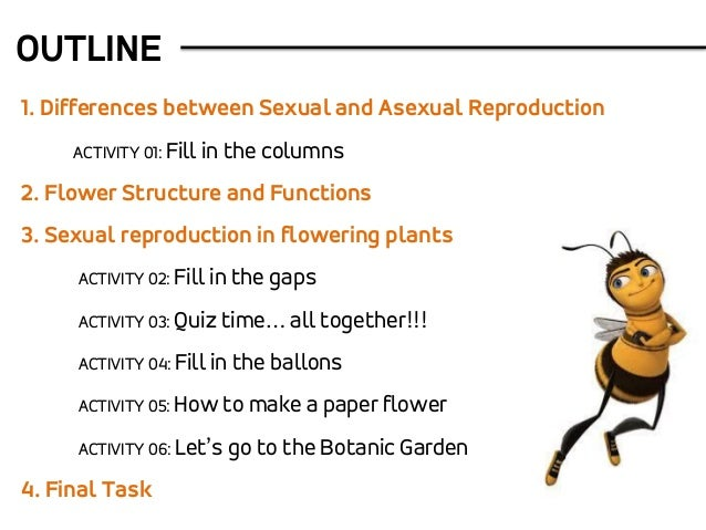 Sexual and asexual reproduction in angiosperms