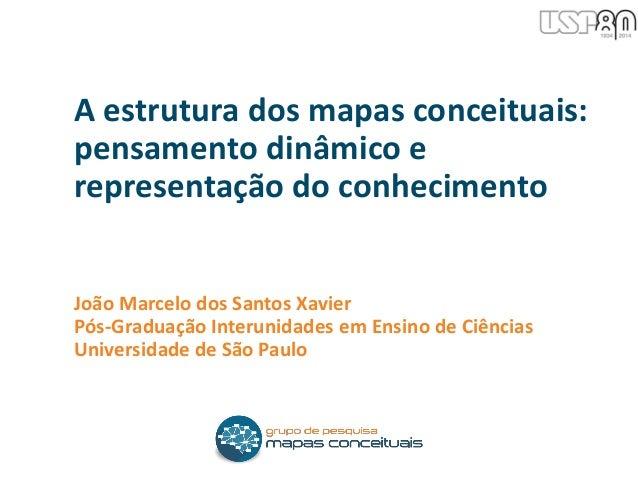 João Marcelo dos Santos Xavier Pós-Graduação Interunidades em Ensino de Ciências Universidade de São Paulo A estrutura dos...