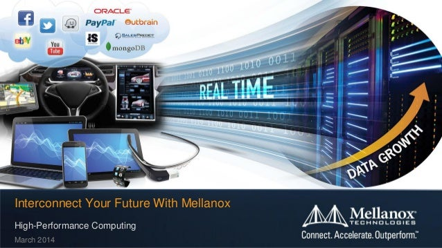 Interconnect Your Future With Mellanox High-Performance Computing March 2014
