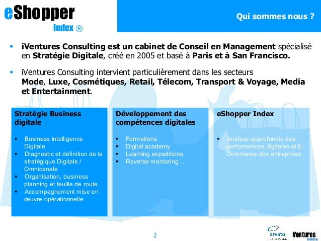 E commerce one to one eshopper index 2014 - Cabinet de recrutement retail mode luxe ...