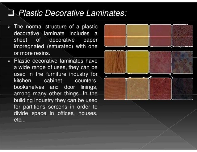 Building materials as a plastic for Plastic building materials