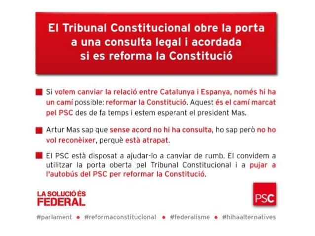 Principals declaracions de Pere Navarro (ple del Parlament)