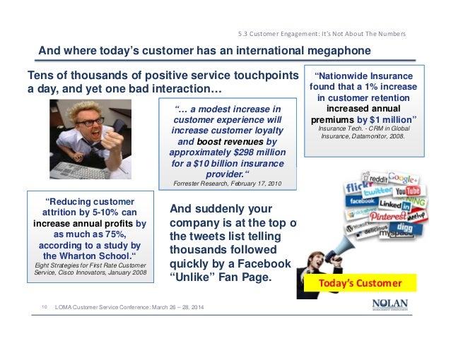 201403 LOMA Customer Service Conference - Customer