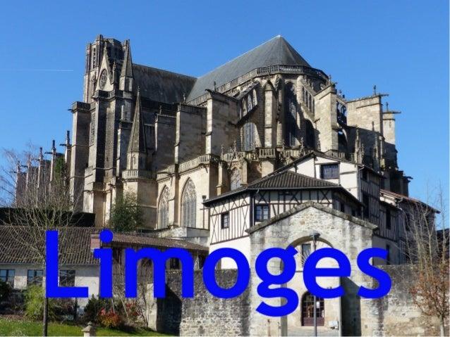 Limoges, capital de Lemousin es conocida por su producción de vajillas de porcelana. Durante más de 200 años la clase alta...