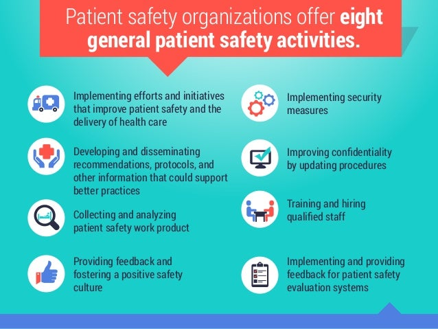 Patient safety initiatives in the hospital
