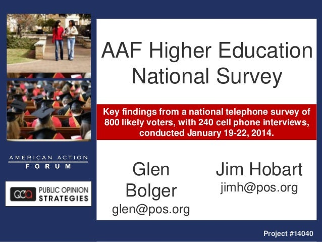 Key findings from a national telephone survey of 800 likely voters, with 240 cell phone interviews, conducted January 19-2...