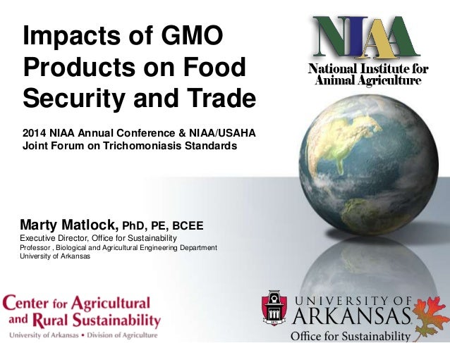 How Can Gmo Improve Food Security
