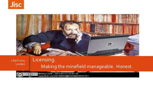 Making the minefield manageable. Honest. 2April 2014 London Licensing.