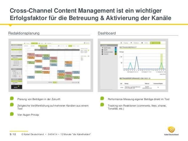 © Kabel Deutschland • Cross-Channel Content Management ist ein wichtiger Erfolgsfaktor für die Betreuung & Aktivierung der...