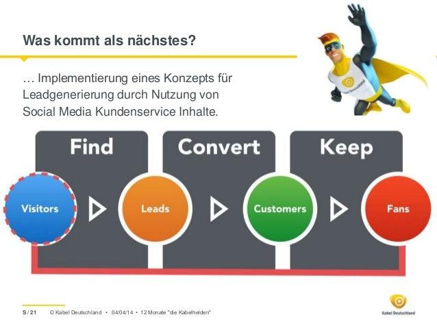 © Kabel Deutschland • Was kommt als nächstes? … Implementierung eines Konzepts für Leadgenerierung durch Nutzung von Socia...