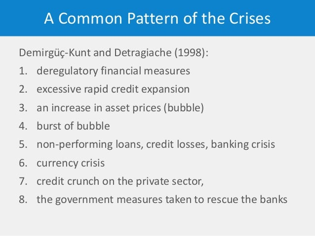 causes and effects of the credit crunch Ver vídeo crisisofcreditcom the goal of giving form to a complex situation like the credit crisis is to quickly supply  the crisis of credit visualized.