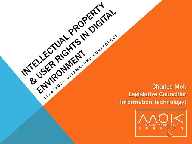 Charles Mok Legislative Councillor (Information Technology)