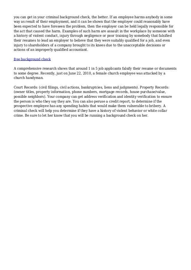 Fbi Criminal Background Check - Federal Bureau Of