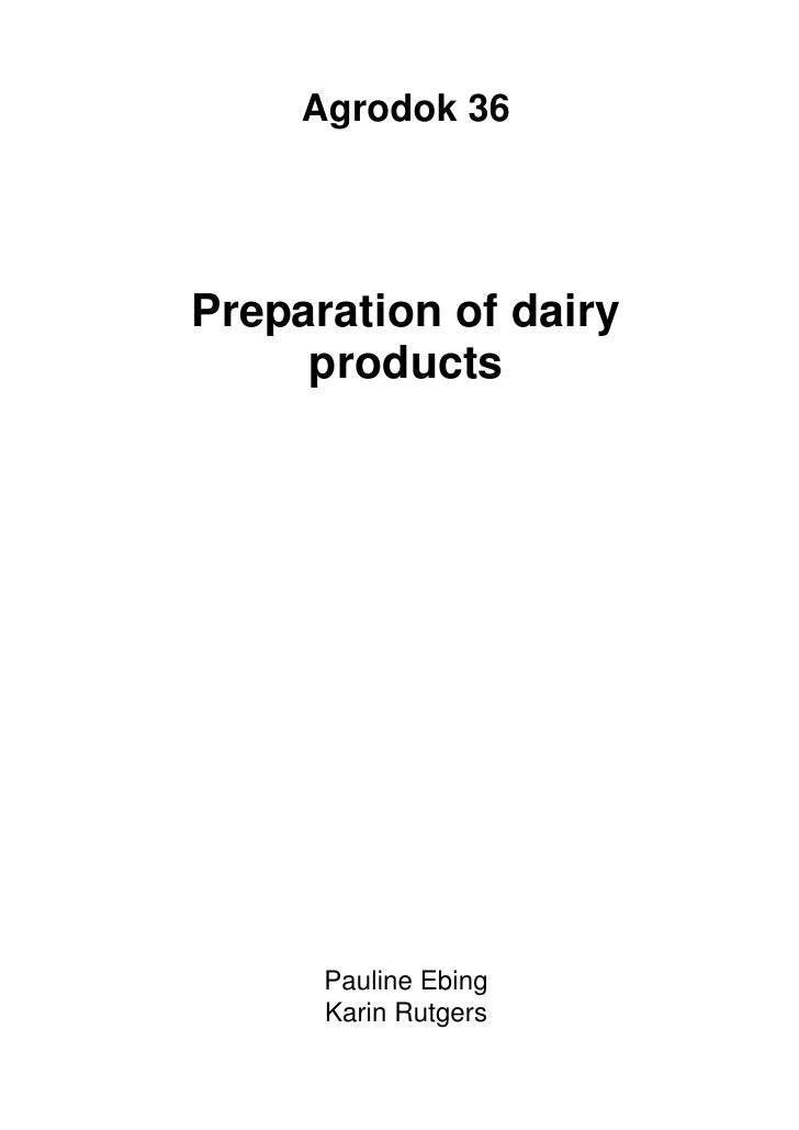 US6419974B1 - Dairy products and method of preparation - Google Patents