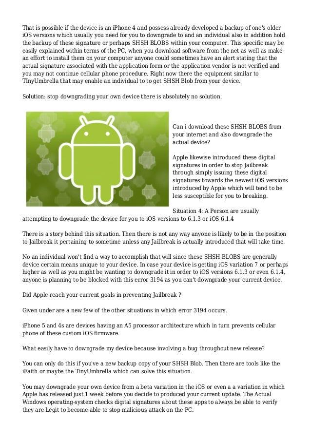 Ios Download Blob