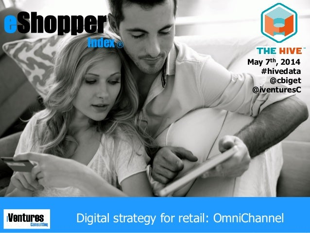 1© iVentures Consulting 2014 eShopper Index ®eShopper Index Digital strategy for retail: OmniChannel ® May 7th, 2014 #hive...