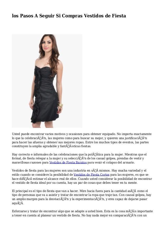 Buscar vestidos de fiesta baratos