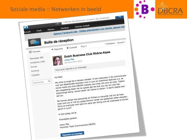 Effectief inzetten van sociale media in het zakenleven Slide 2