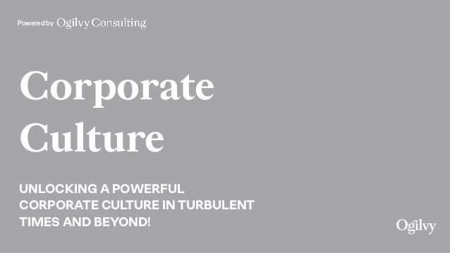 Powered by Corporate Culture