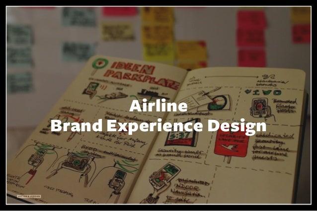 VATTER & JORDAN Airline Brand Experience Design
