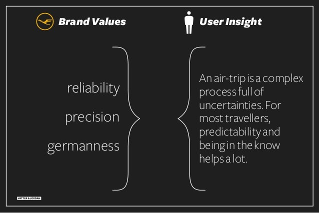 reliability precision germanness Brand Values Anair-tripisacomplex processfullof uncertainties.For mosttravellers, predict...