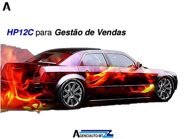 HP12C para Gestão de Vendas