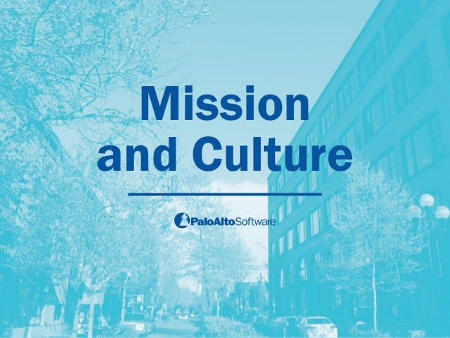 Mission  and Culture
