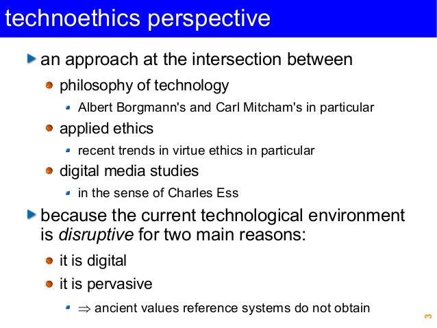 """Beyond digital literacy: Technological wisdom for the good life"", Michel PUECH, CEPE 2014 Slide 3"