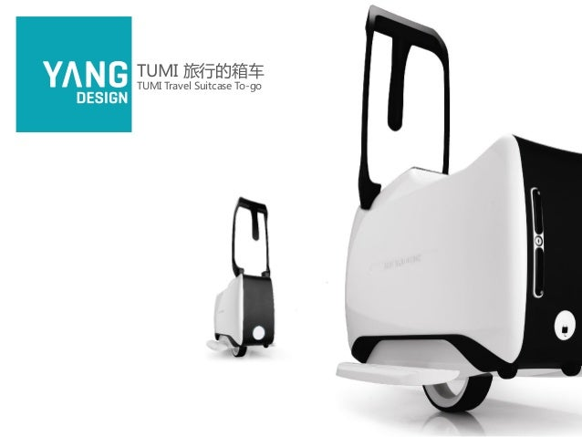 Travel Suitcase To Go By Yang Design For Tumi