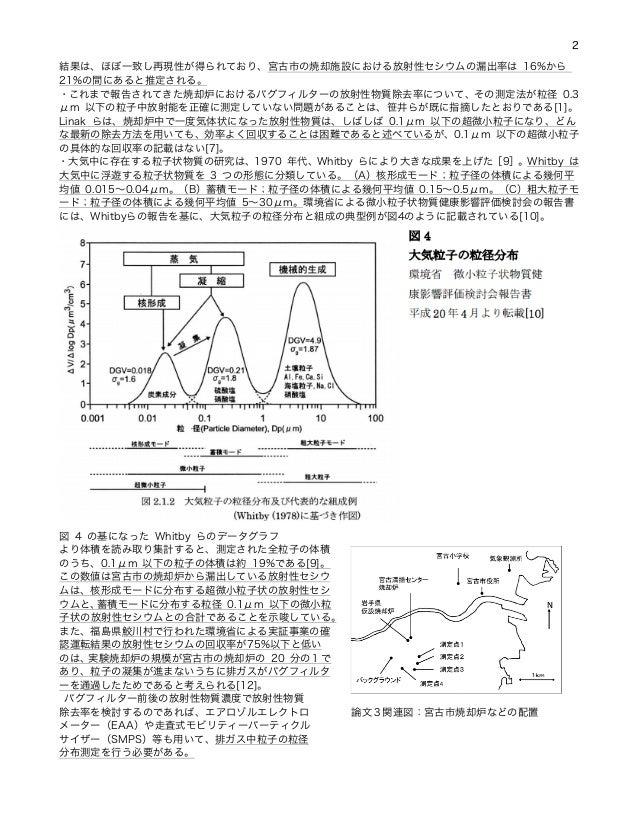 140629 第5回放射能ゴミ焼却を考える学習会 永田文夫さん資料②岩見論文1~5要点メモ Slide 2
