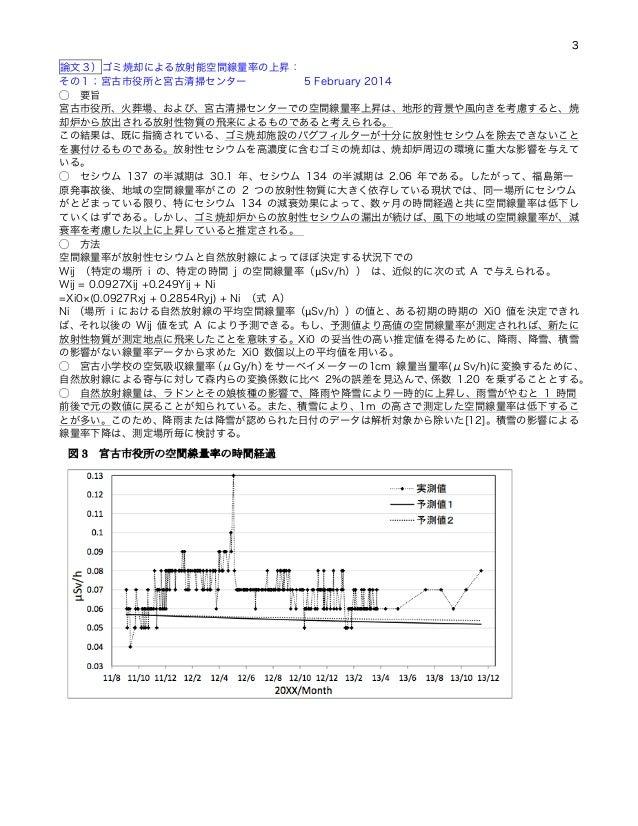 140629 第5回放射能ゴミ焼却を考える学習会 永田文夫さん資料②岩見論文1~5要点メモ Slide 3