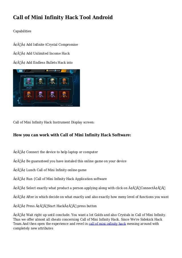 call of mini infinity apk mod ios
