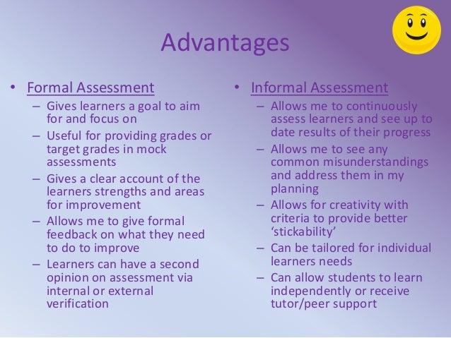 ... Something; 10. Advantages U2022 Formal Assessment ...