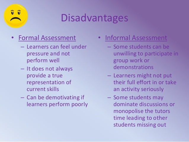 Enabling Learning And Assessment