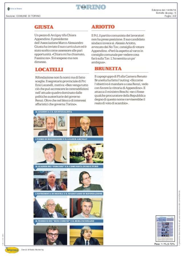 Repubblica - Sul carro di Appendino Slide 2