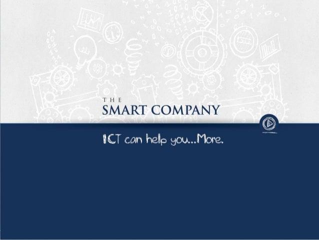 The Smart Company • Société de développement IT spécialisée dans le secteur énergétique (tertiaire) • Mission – Collecter ...