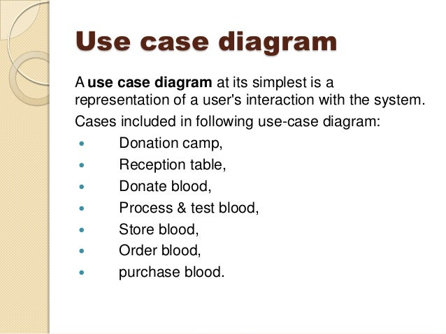 Blood bank management system including uml diagrams use case diagram ccuart Gallery
