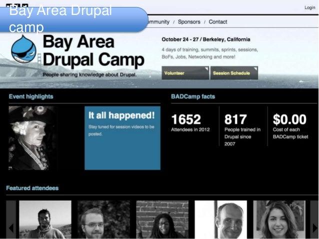Bay Area Drupal camp