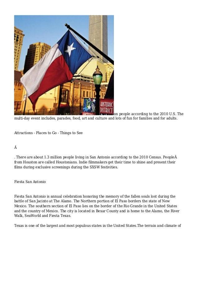 Texas - InfoBarrel Slide 2