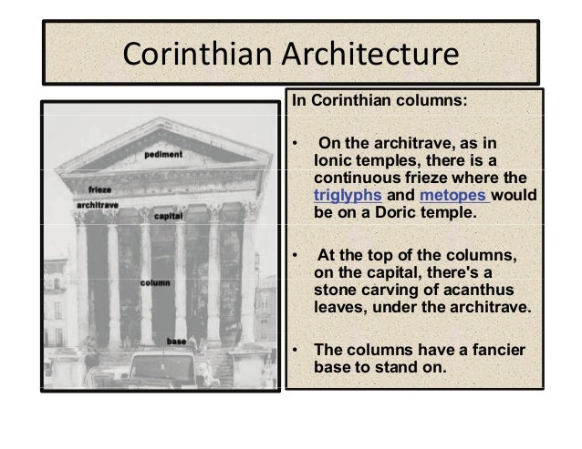 Acanthus Leaves 12 Corinthian ArchitectureCorinthian Architecture