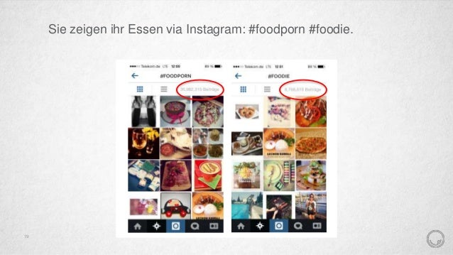 Sie teilen ihre Ideen und Rezepte auf Food-Blogs. 20