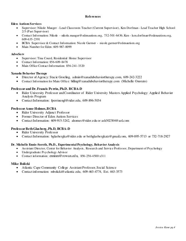 aba therapist resume