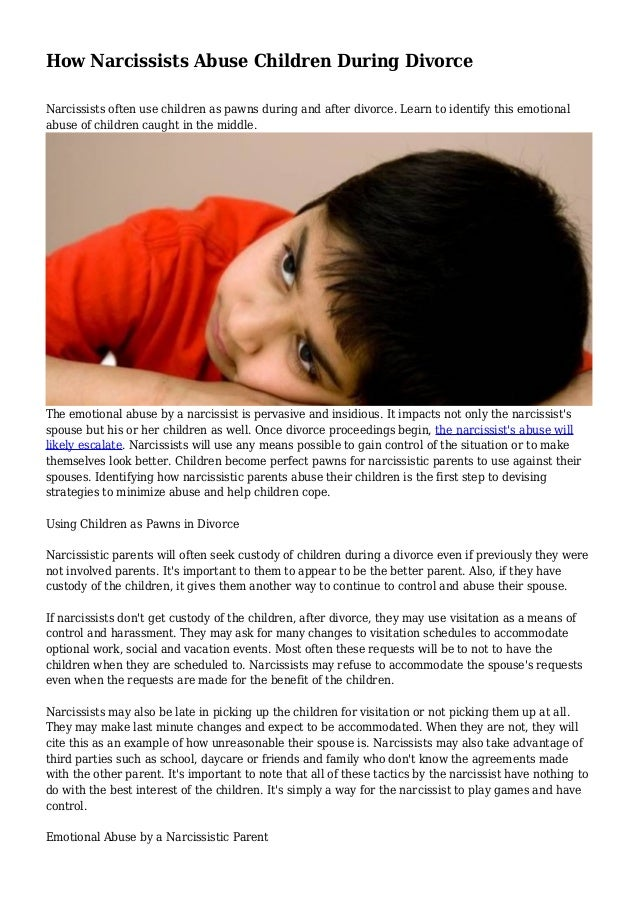 Images - Narcissistic parent divorce