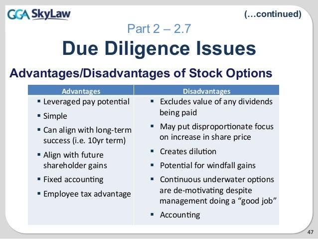 Exercising stock options public company