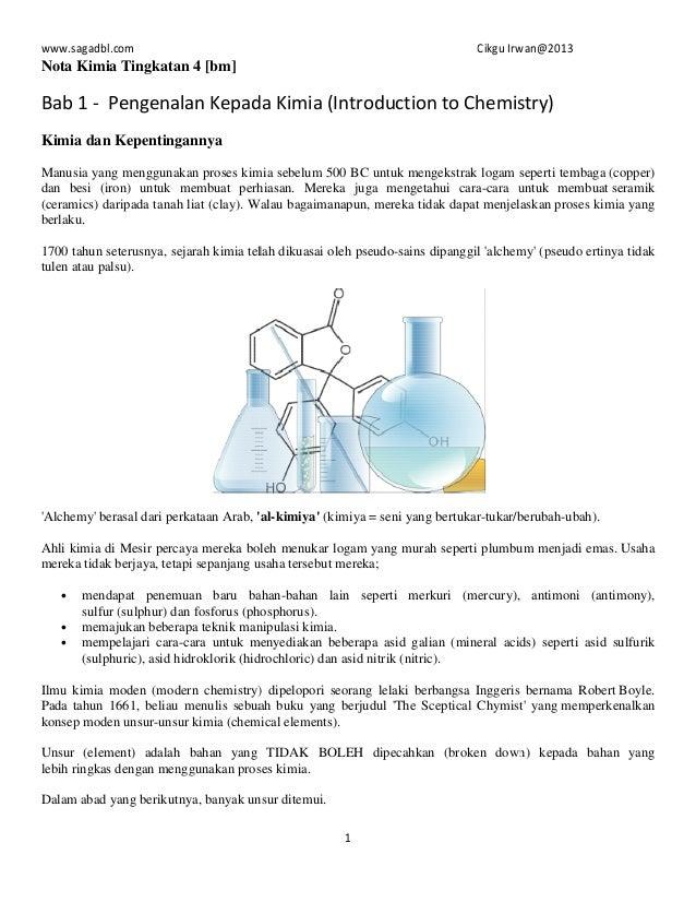 140813560 Nota Kimia Tingkatan 4