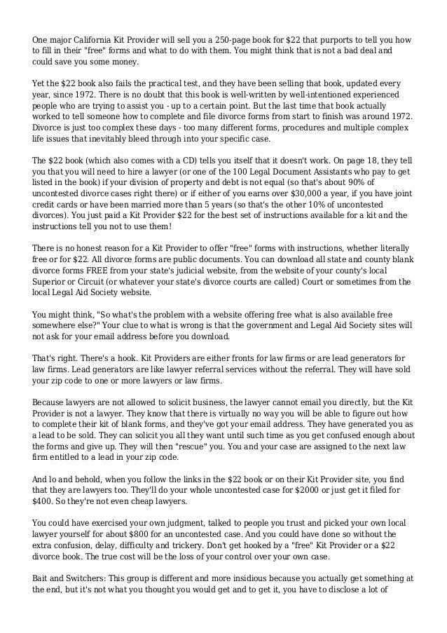 divorce letter - Etame.mibawa.co