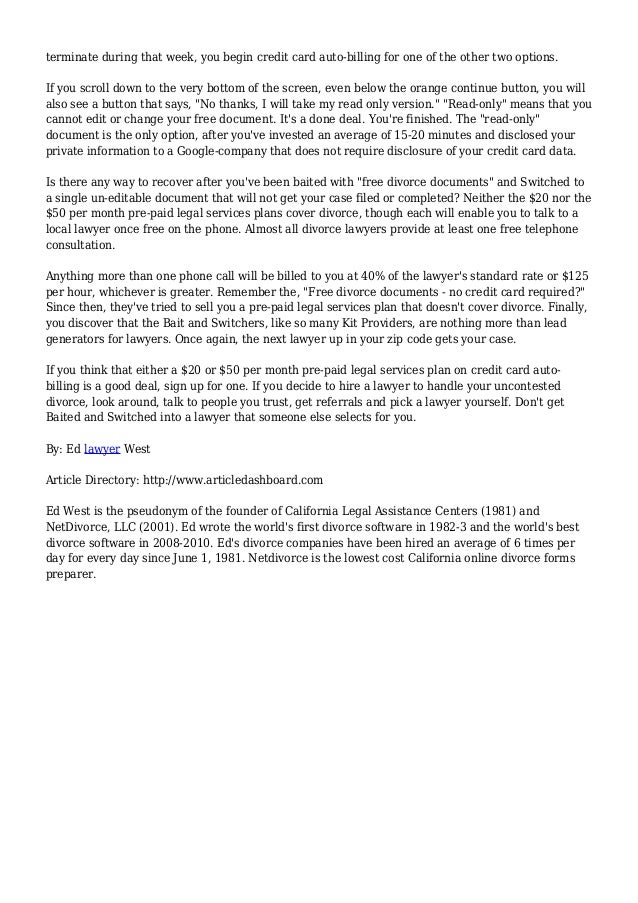 The free forms scam in online divorce 4 terminate solutioingenieria Gallery