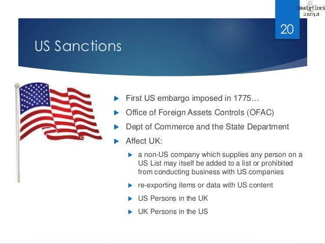 sanctions and embargoes News about embargoes and economic sanctions commentary and archival information about embargoes and economic sanctions from the new york times.
