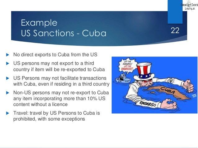 Cuba Sanctions State Autos Post